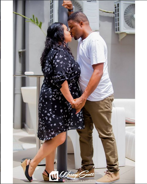 Prewedding Photos Of Canadian Lady & Nigerian Man