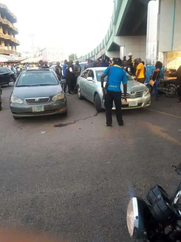 Photos Of Youths Resisting SARS Harassment In Abeokuta Today 2