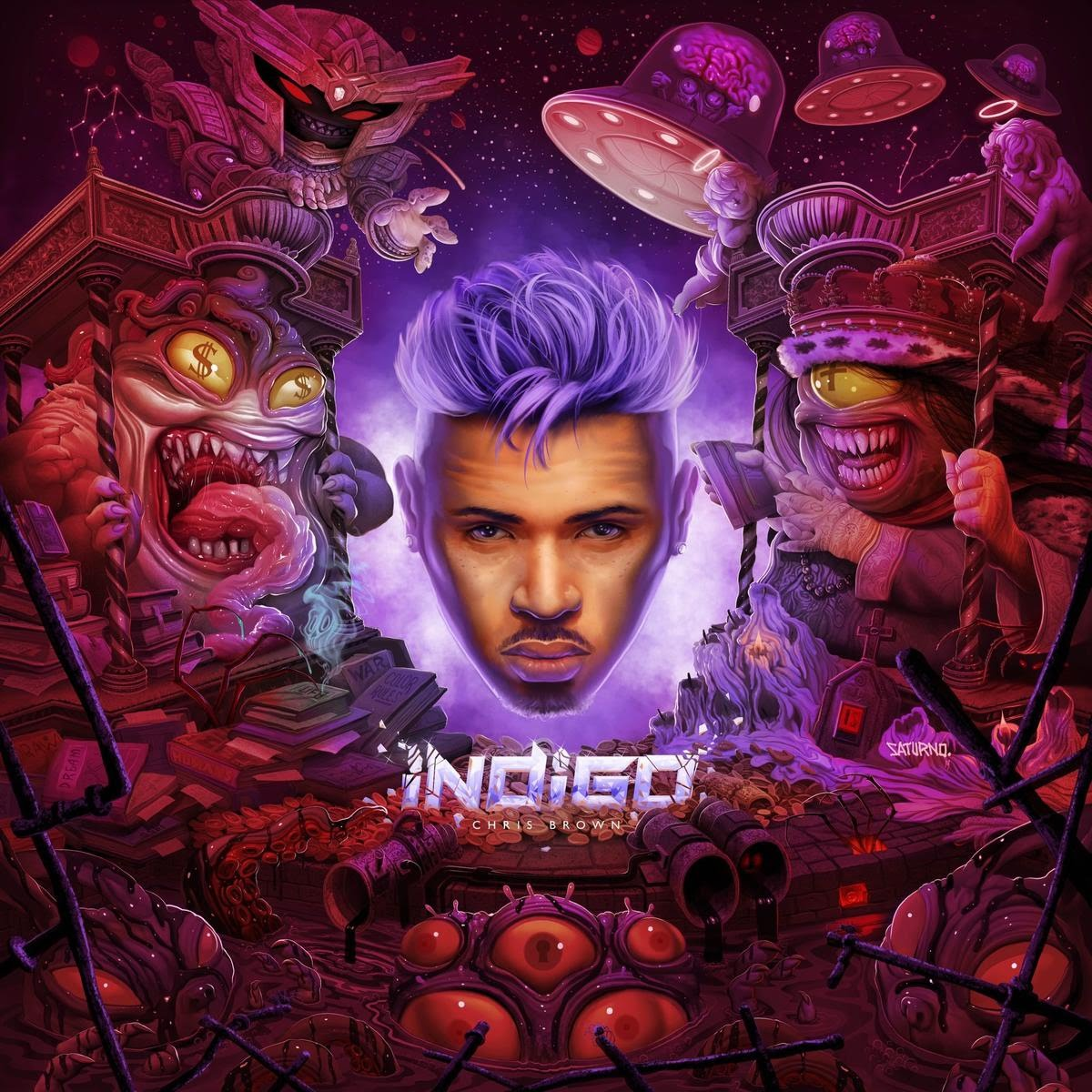 Audio] Chris Brown – Don't Check On Me ft  Justin Bieber & INK