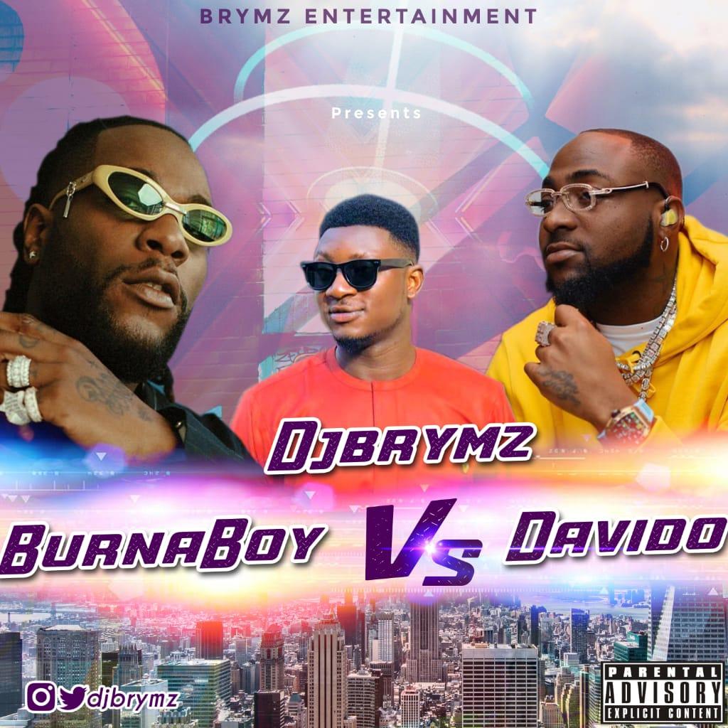 DjBrymz – Burna Boy vs Davido Mixtape